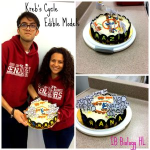 Kreb's Cycle Edible Cake